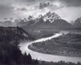 Landscape Photography Ansel Ansel The Tetons And The Snake River Blart