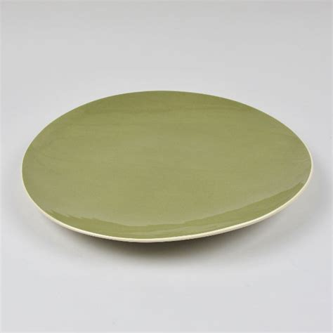 Handmade Dinner Plates - dinner plate by brickett davda handmade in east sussex