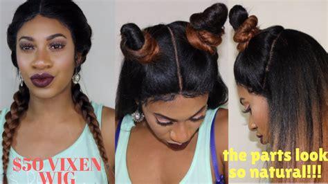 tutorial for vixen sewin vixen sew in new outre vixen wig tutorial styling
