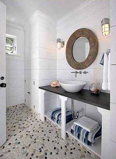 nautical tiles for bathroom 1000 images about beach bathroom on pinterest pebble