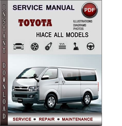 manual repair autos 2002 toyota highlander parking system toyota hiace service repair manual download info service manuals