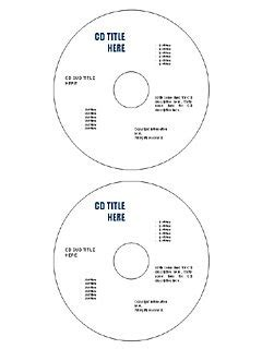 22 Best And Useful Cd Dvd Label Templates In Ms Word Cd Template Word