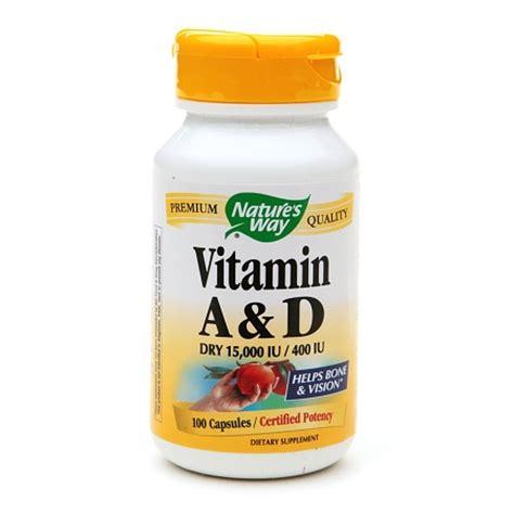 Vitamin Orange Cair Nature S Way Vitamin A D Capsules Walgreens