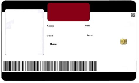 id card blank template id card blank by tanugi on deviantart