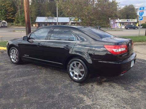 lincoln mkz tires purchase used 2006 lincoln zephyr mkz every factory option