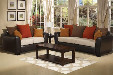 Color Your Living Room with Awe and Couch Loveseat Set for