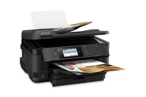 Printer Epson Format Besar workforce wf 7710 wide format all in one printer inkjet printers for work epson us