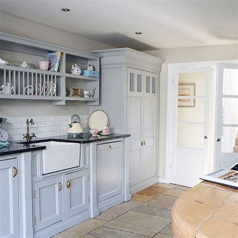 grey country kitchen country kitchen with painted units and belfast sink