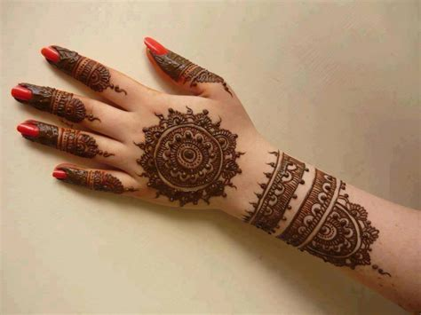 Modern And Latest Arabic Mehndi Design Top Pakistan Arabic Design