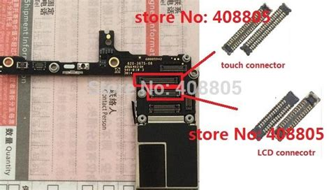 Konektor Connector Socket Touchscreen Iphone 6 6 Plus 55 original new lcd display touch digitizer fpc connector