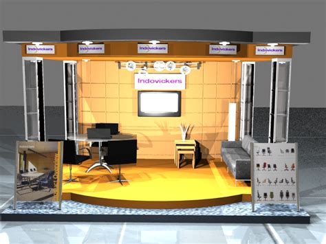 Design Booth Pameran | bitstyle design booth pameran