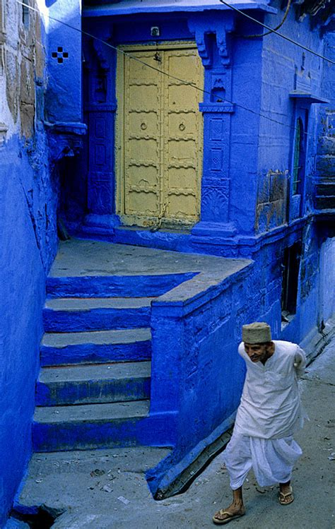 French Home Interiors the blue city a photo from rajasthan west trekearth