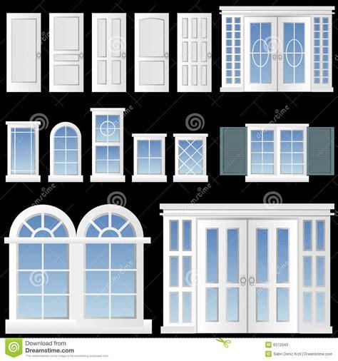 Dormer Roof Design Window And Door Vector Stock Photos Image 6372043