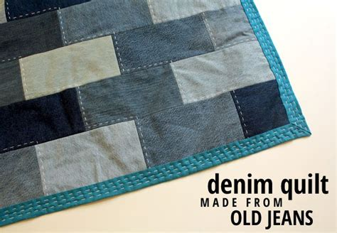 denim quilt made from denim