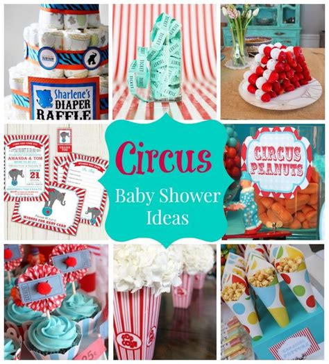 Circus Themed Baby Shower Cakes by Best 25 Circus Baby Showers Ideas On