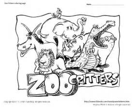 zoo coloring page free coloring pages of preschool zoo animals