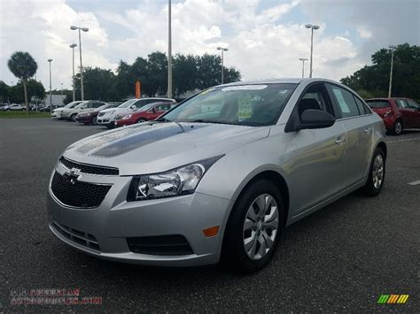 Silver And Black Ls by 2012 Chevrolet Cruze Ls In Silver Metallic 320241