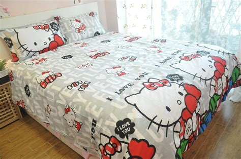 hello kitty queen size bedding shocking hello kitty queen size sheet set u one thousand