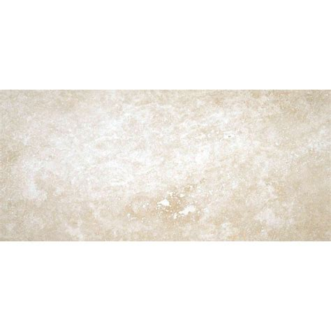 ms international tuscany ivory 8 in x 12 in honed travertine floor and wall tile 6 67 sq ft