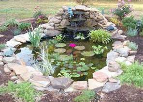 Small Water Garden Ideas Small Garden Pond With Cascading Ponds Gardens Garden Ponds And Small