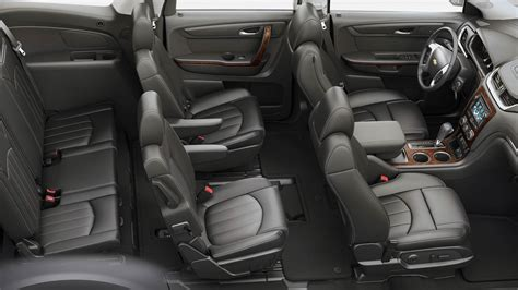 Chevy Traverse Interior Photos by 2017 Chevrolet Traverse Redesign Review Photos Release Date