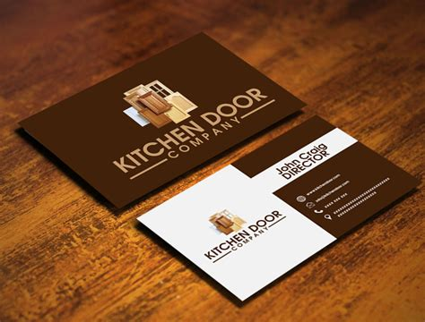 kitchen cabinet company names business card design contests 187 captivating business card