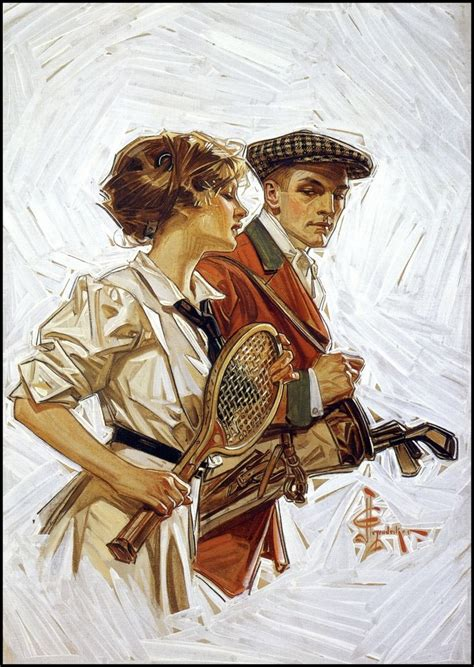 leyen decker j c leyendecker 1910 box and line