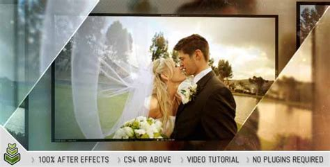 after effect wedding template 30 sentimental wedding after effects template collection