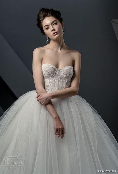 Dress Miss Collections trubridal wedding ersa atelier 2018 wedding