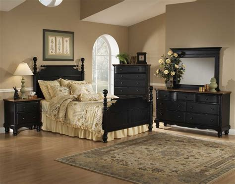 wilshire bedroom set hillsdale wilshire post bedroom collection rubbed black b1173 homelement