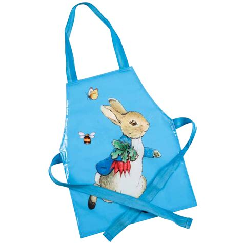 E035 Pre Order rabbit child s apron from beatrix potter wwsm