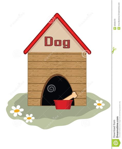 red dog house red dog house clipart