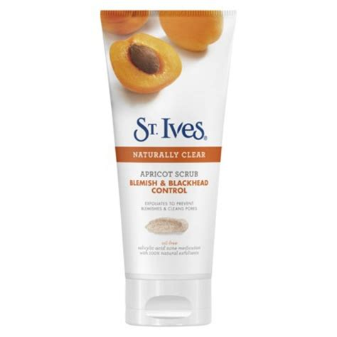St Ives Blemish 170gr 1 st ives apricot scrub blemish blackhead reviews
