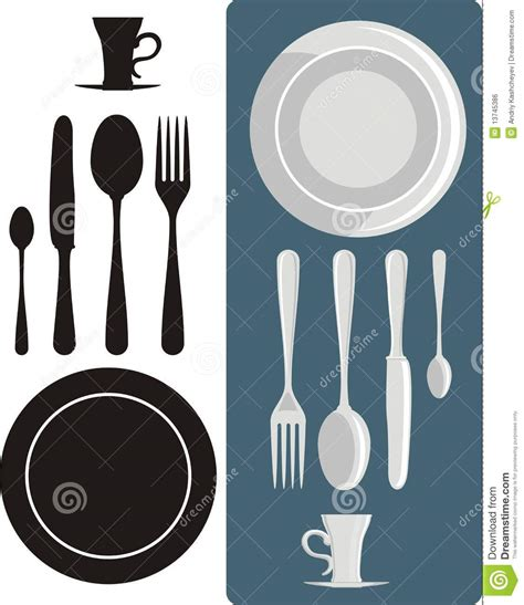 Dining Table Utensils Dining Utensils Royalty Free Stock Image Image 13745386