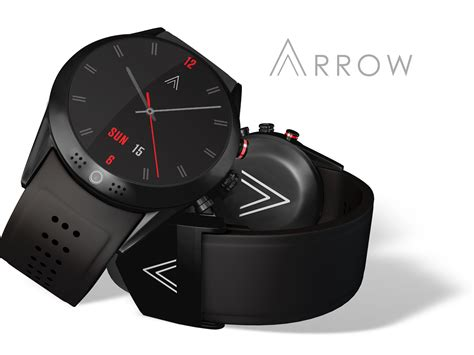 smartwatch with introducing arrow smartwatch with the 360