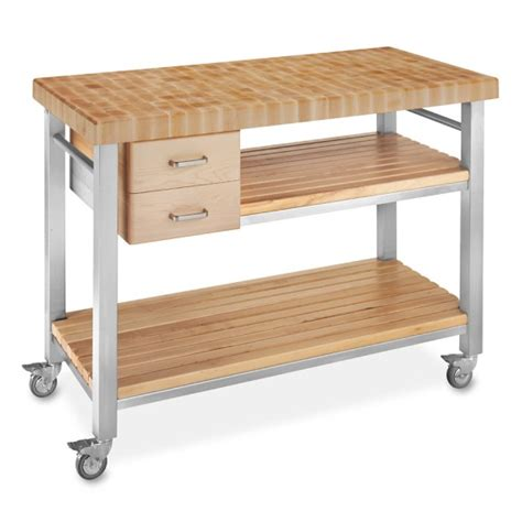 john boos end grain butcher block culinary cart 48 john boos cucina d amico butcher block wine cart