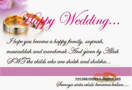 kata kata ucapan selamat pernikahan bahasa inggris