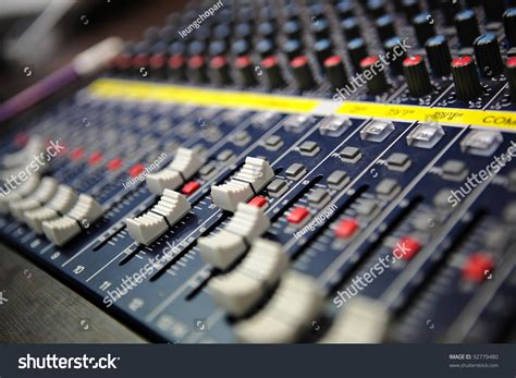 stock sound sound mixer stock photo 92779480 shutterstock
