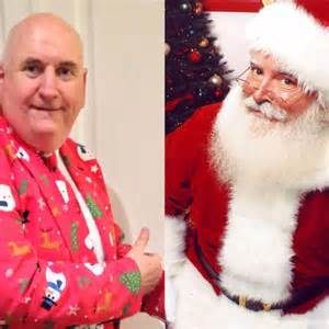 santa chasing melbourne man attempts world record for