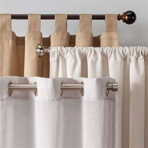 burlap curtains target curtain target grommet curtains jamiafurqan interior