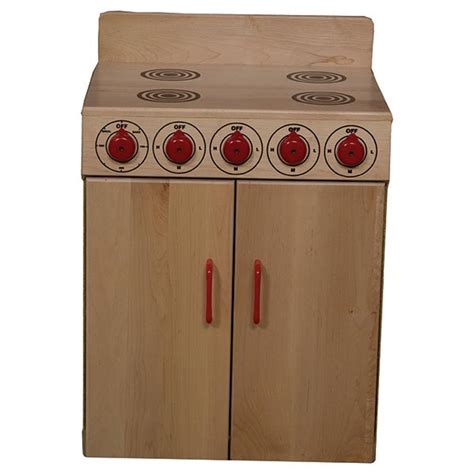 wood designs play kitchen wood designs wd10120 maple play kitchen stove schoolsin