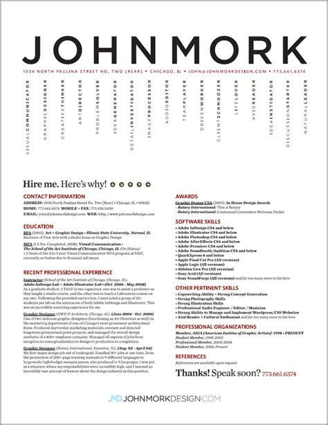 27 Examples of Impressive Resume(CV) Designs   DzineBlog.com
