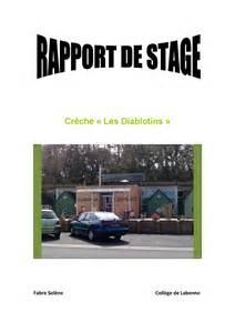 rapport de stage brevet des coll 232 ges 3 232 me by barroso