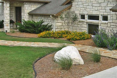 landscape ideas for front yard ranch style home izvipi