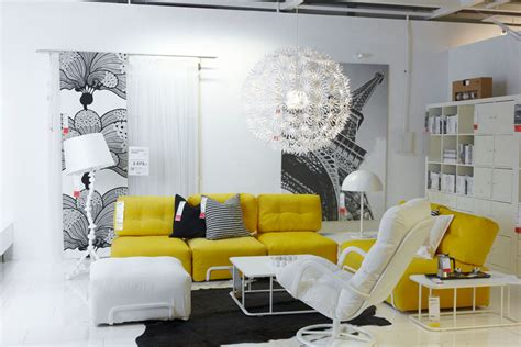 Ikea Living Room Yellow Fabulous Interior Designs With Big Pendant Ls