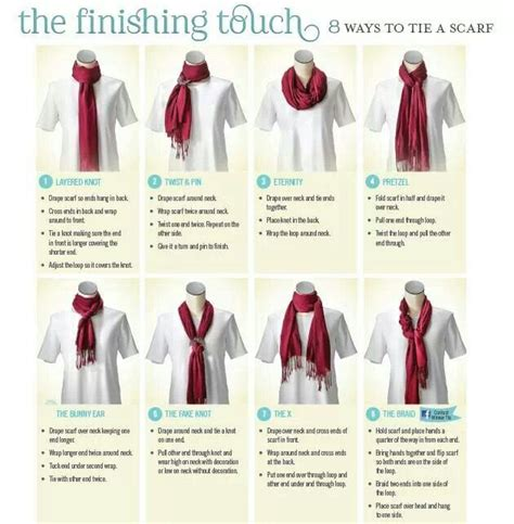 8 Cool Ways To Wear A Scarf by Scarf Tying My Style