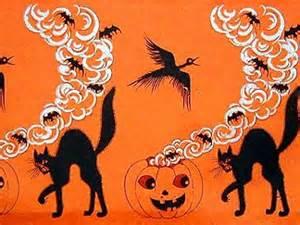 Vintage Halloween Paper Decorations The Vintage Halloween Website Party Decor