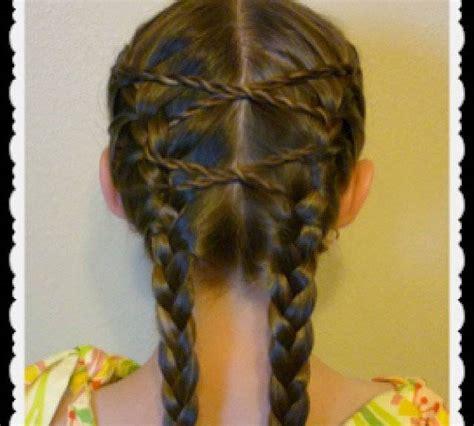 handouts on how to braid hair bambine con capelli lunghi e trecce molto particolari