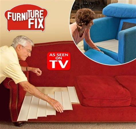 couch fixer as seen on tv furniture savers sagging sofa chair fix couch cushion