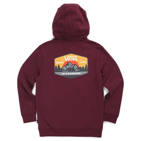 jaket sweater hoodie vans gradiasi boys mtn hi standard pullover hoodie shop boys